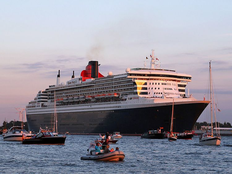 """Mille Saluti"" Queen Mary 2"
