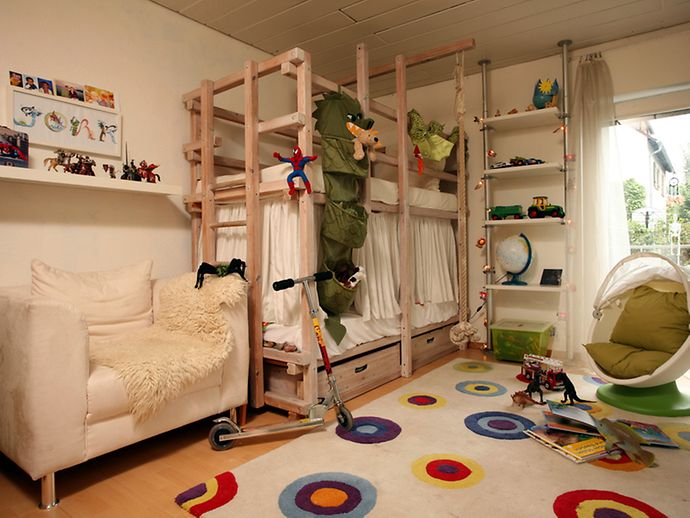 design stauraum kinderzimmer. Black Bedroom Furniture Sets. Home Design Ideas