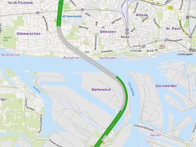 Stau Karte.A1 Hamburg Aktuelle Verkehrslage Hamburg De