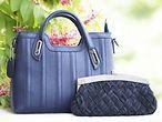 Blaue Handtasche und Clutch / ©bhaskarjoshi500 @pixabay