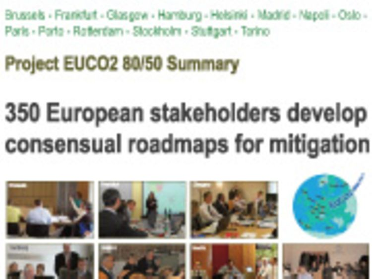 Titelblatt: Project EUCO2 80/50 Summary