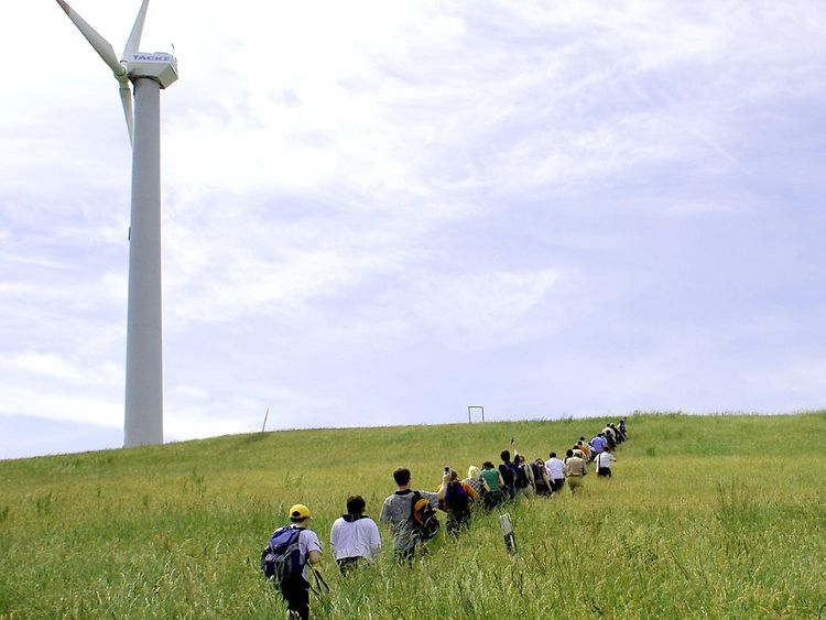 Windkraft Energieberg Georgswerder