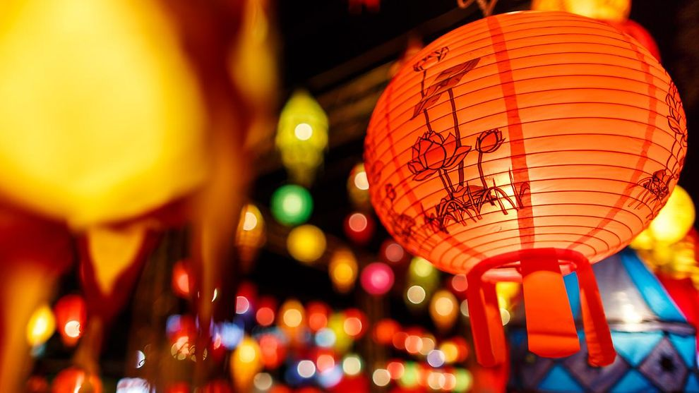 Internationaler Lampion China