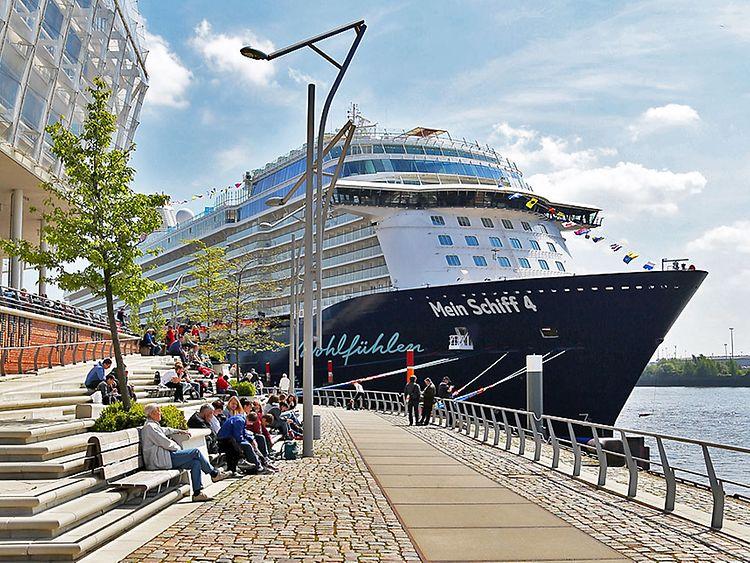Mein Schiff 4 in Hamburg - Termine, Route, Standort - hamburg de