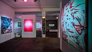 OMZ Art Space Gallery / OMZ Art Space Gallery