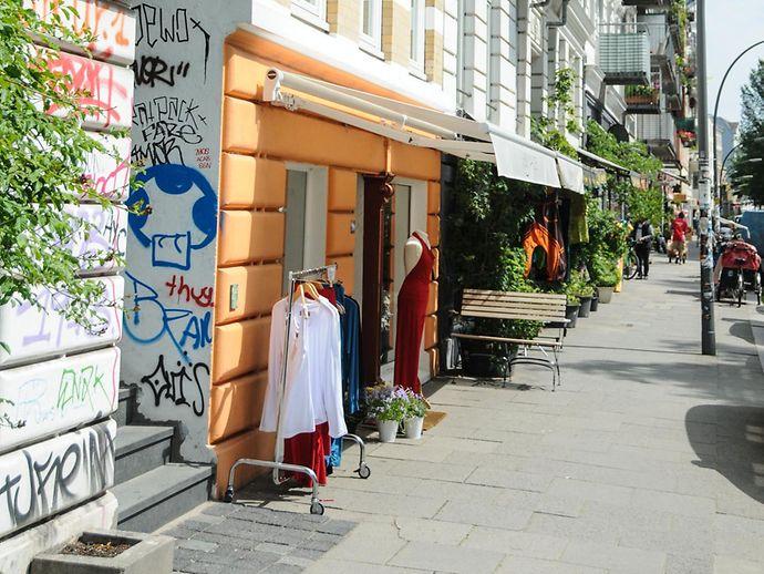 Kleider karoviertel hamburg