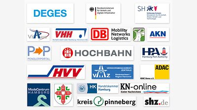 Logo-Collage Projekt- und Medienpartner