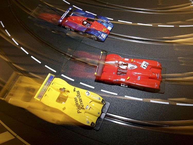Slot Racing in Hamburg
