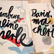 """Postkarten mit Motiven """"Hamburg, meine Perle"""" und """"Paris, ma chérie""""  / hamburg.de"""
