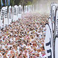 Massenstart beim Hamburger Marathon  / Tim Heisler - www.Fotografie-Heisler.de