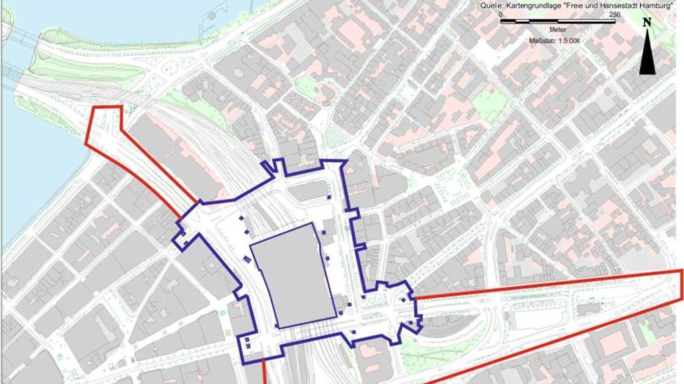 Hamburg Hauptbahnhof Karte.Verkehr Infrastruktur Hamburg De