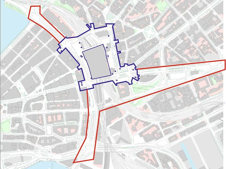Hamburg Hauptbahnhof Karte.Untersuchung Umfeld Hauptbahnhof Hamburg De