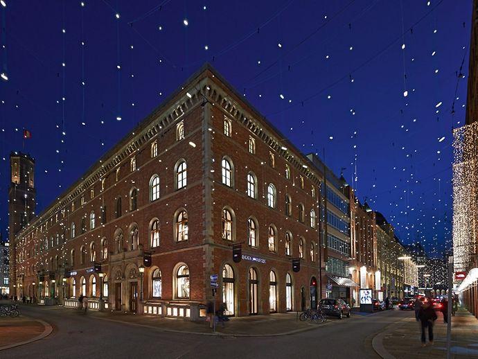 Hochwertige Weihnachtsbeleuchtung.Bid Passagenviertel Hamburg De