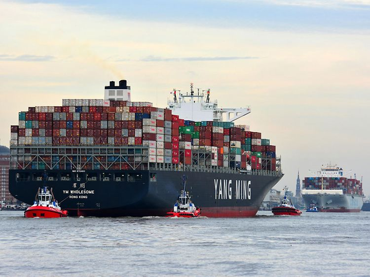 Containerschiff Yang Ming
