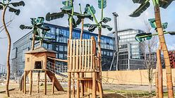 Spielplatz Grasbrookpark / Marek Santen