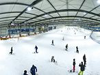 Die Skipiste des Snow Dome in Bispingen / Snow Dome Bispingen