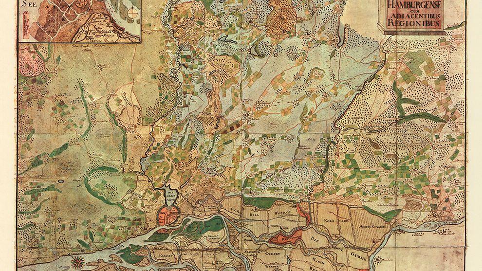 Hamburg Und Umgebung 1745 Hamburg De