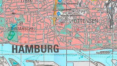 Höhenmeter Karte Deutschland.Topographische Karten Hamburg De