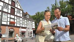 Bad Bevensen, Wasserspiele in der Innenstadt / BM image-foto.de