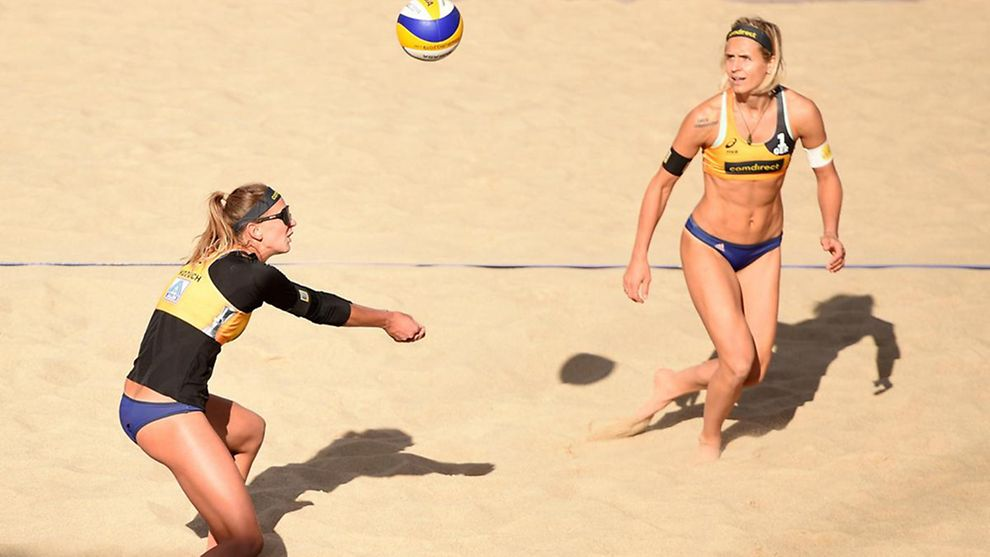 Leustungssport Teaserbild Beachvolleyball